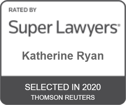 Rated by Super Lawyers - Katherine Ryan